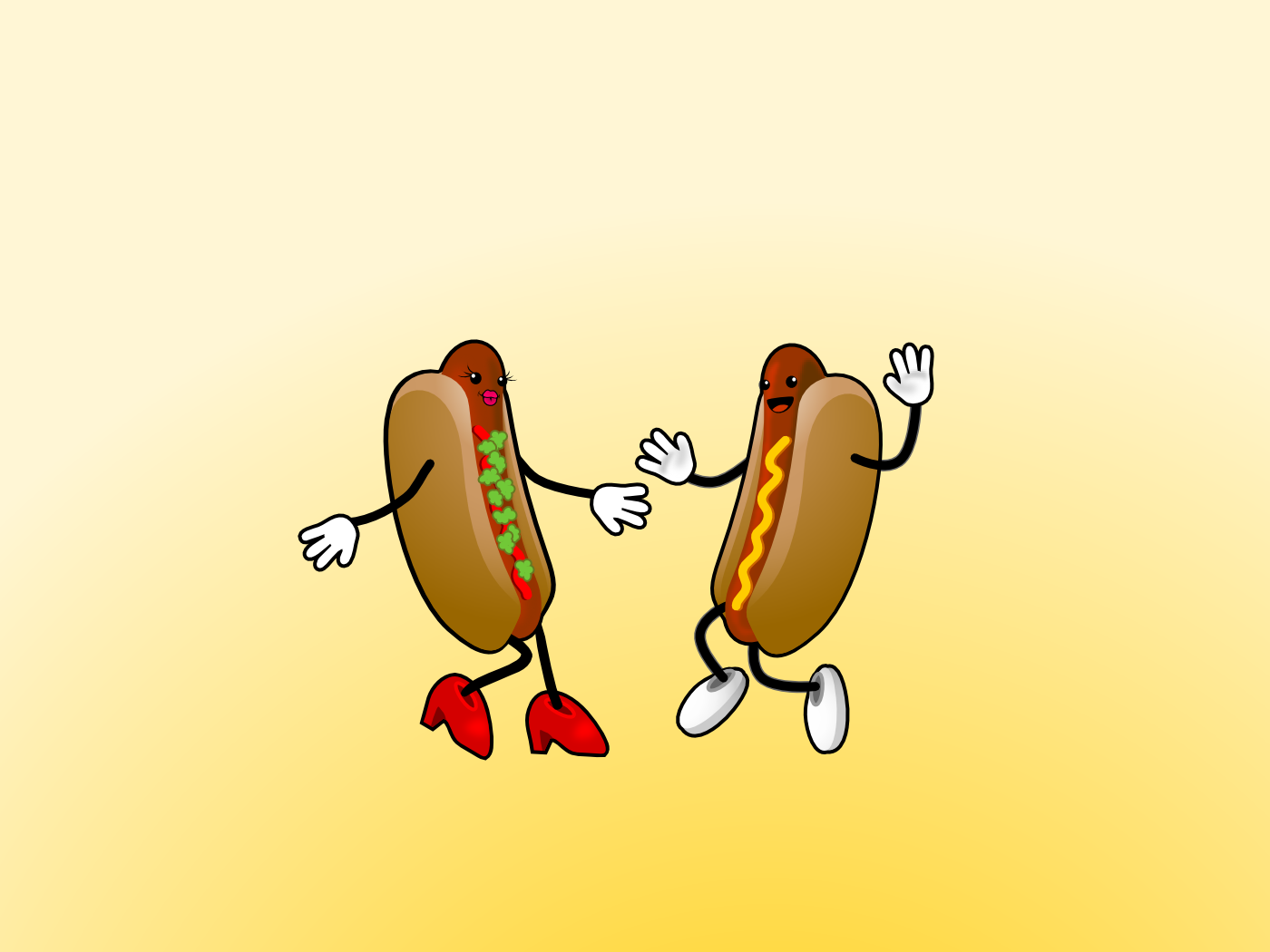 You can have the hot dog if…