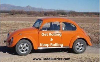 Get it Rolling, Keep it Rolling