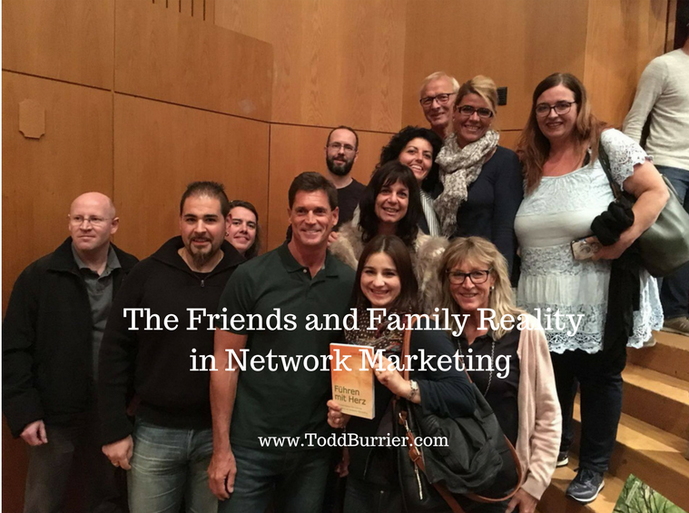 The Friends and Family Reality in Network Marketing