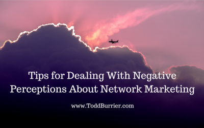 Tips for Dealing with Negative Perceptions About Network Marketing