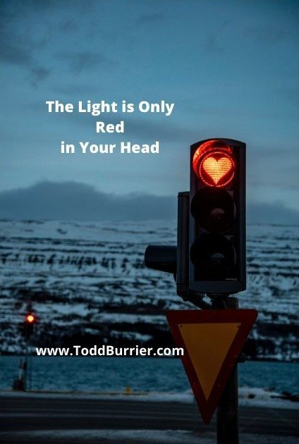 The Light is only Red in your Head