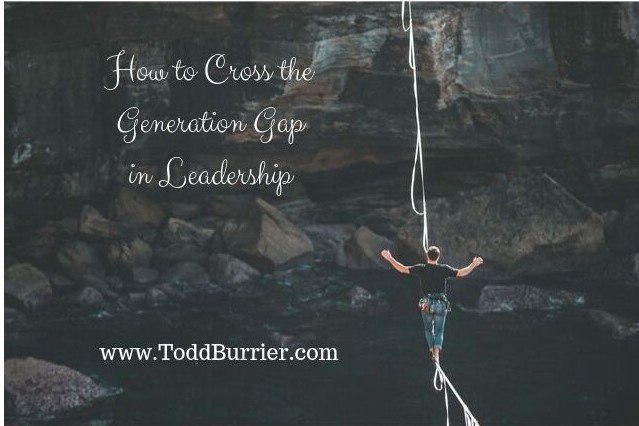 How to Cross the Generation Gap in Leadership