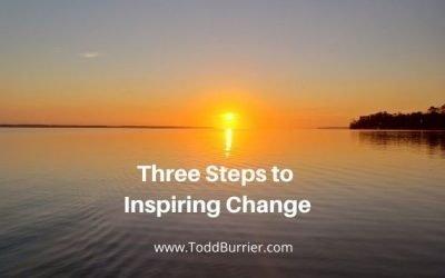 Three Steps to Inspiring Change