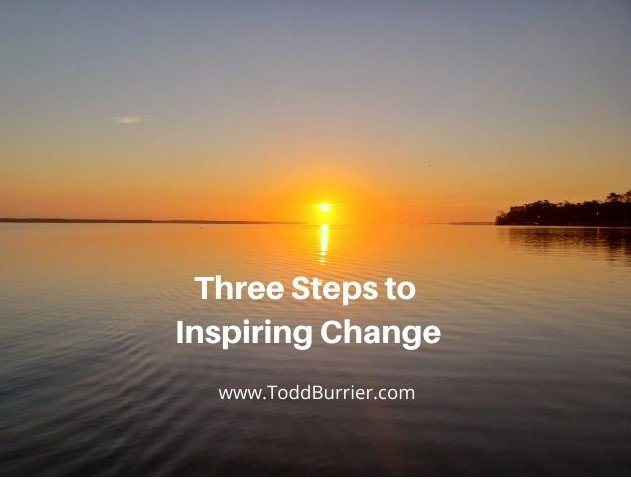 Three Steps to Inspiring Change