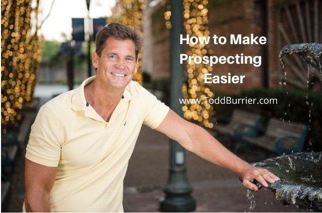 How to Make Prospecting Easier