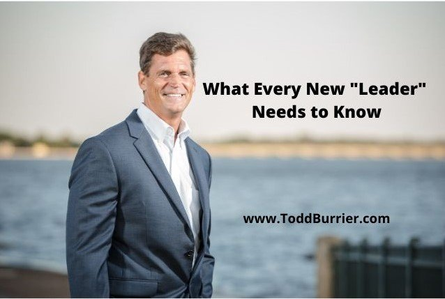 """What Every New """"Leader"""" Needs to Know"""