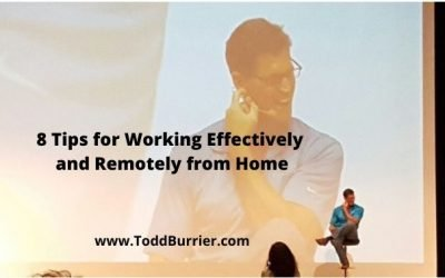 8 Tips for Working Remotely and Effectively from Home