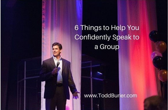 6 Things to Help You Confidently Speak to a Group