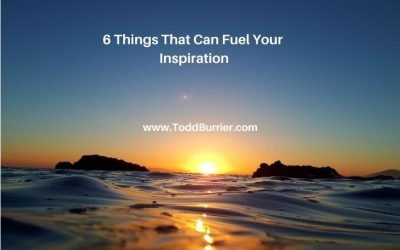 6 Things that Can Fuel Your Inspiration