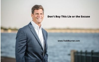 Don't Buy This Lie or the Excuse